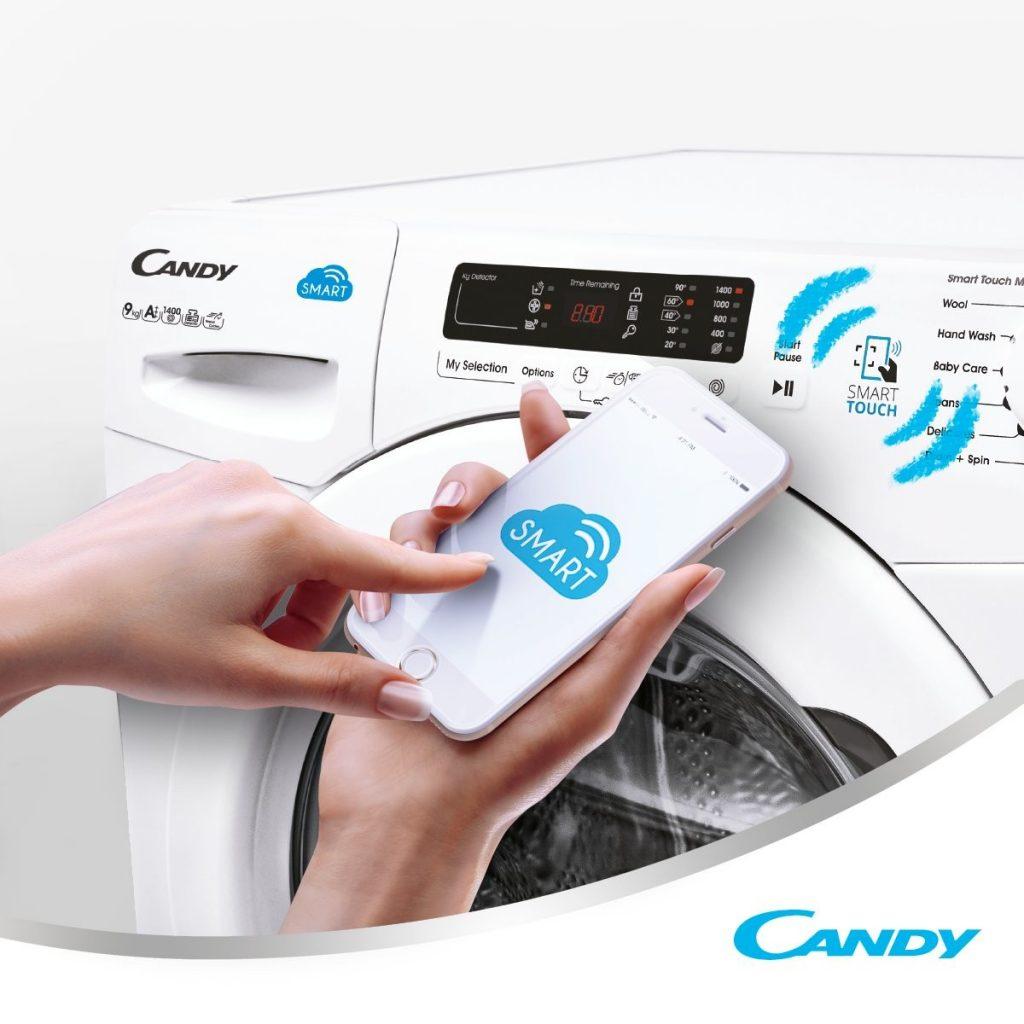 Secadoras Candy con conectividad NFC
