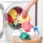 secadora con ropa