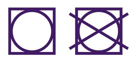 símbolos de se cado natural