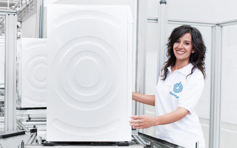 Paneles antivibración de las Secadoras Balay