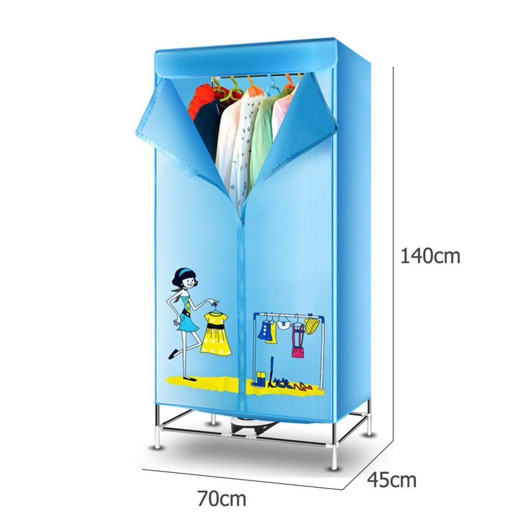 secadora azul portatil
